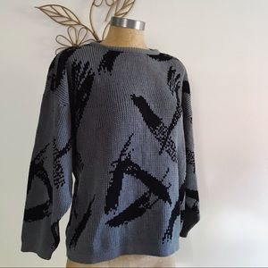 Abstract Sweater • Authentic Renaissance Knitwear